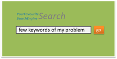 You need to understand the problem that is represented by only a few keywords