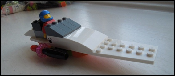 Just a LEGO power boat for fun